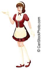 A housemaid