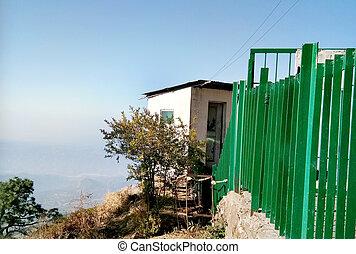 A hut on Mountain
