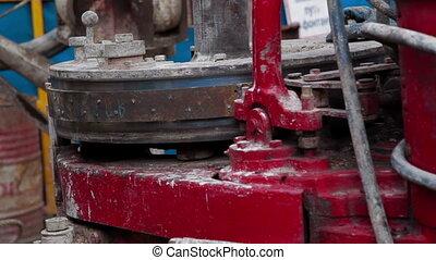 A hydraulic key Oilfield Industry Drilling Rig