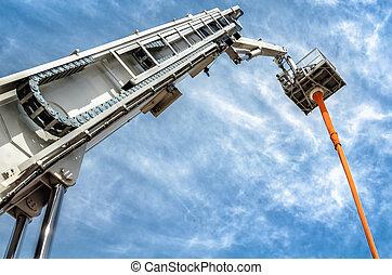 hydraulic man lift