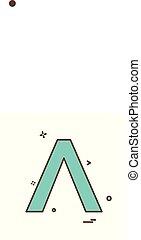 A icon design vector