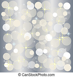 a illustration of a christmas light background