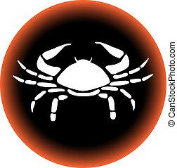 zodiac button cancer