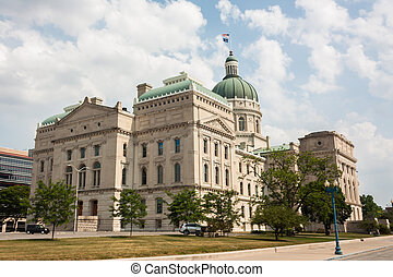 a, indiana, statehouse