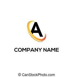 a initial logo company