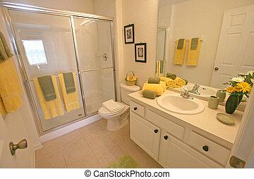 Bathroom - A Interior Shot of a Bathroom in Florida