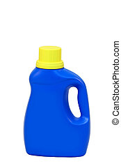 Laundry detergent bottle - a isolated Laundry detergent...