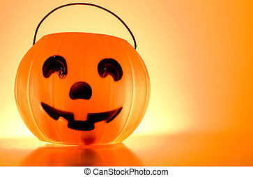 Jack-O-Lantern - A Jack-O-Lantern trick or treat bucket...