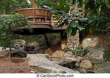 Japanese Style Bridge