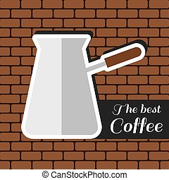 A jar of coffee, with the best coff