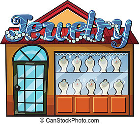A jewelry shop
