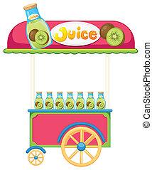 A juice cart