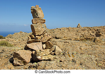 Image of a typical kern in the mountains