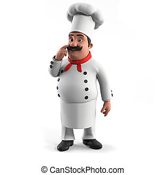 A kitchen chef