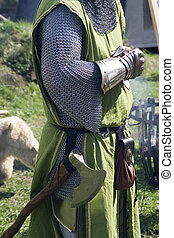 knight - a knight an a middle age event
