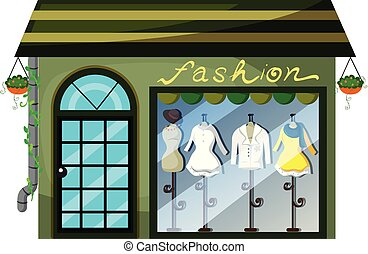 A lady fashion store