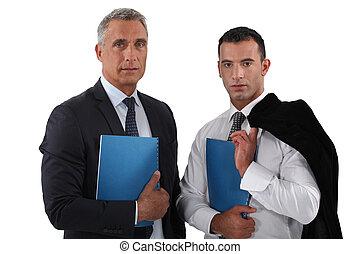 a, lag, av, affär, professionelle