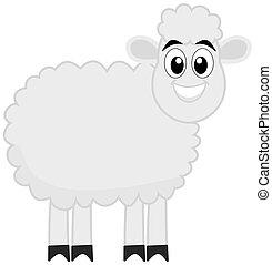 a lamb's profile