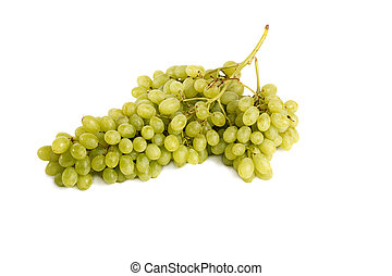 a large bunch of grapes