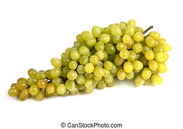 A large bunch of ripe juicy grapes