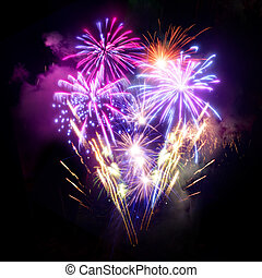 Fireworks Display - A large Fireworks Display event.