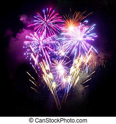 Fireworks Display - A large Fireworks Display event.