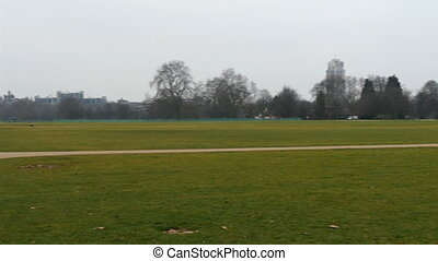 A large green park in London