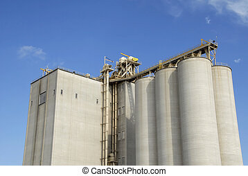 A Large New Grain Elevator