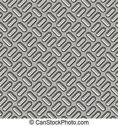 tread plate - a large sheet of nice shiny chrome tread plate