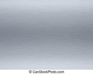 brushed steel - a large sheet of rendered brushed steel or ...
