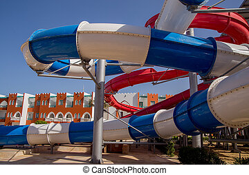 large water park in the complex