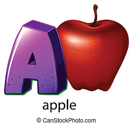 A letter A