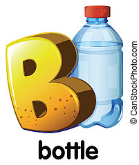 A letter B for bottle