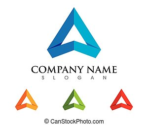 A Letter Logo Template - A Letter Logo Business Template...