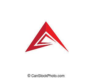 A letter symbol illustration