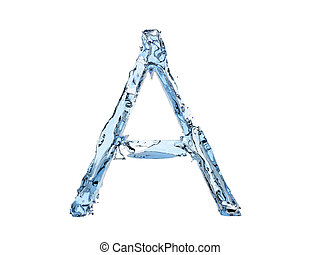 A letter water