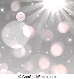 A light rays background with bokeh