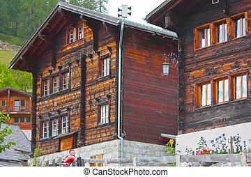 a little village in Switzerland