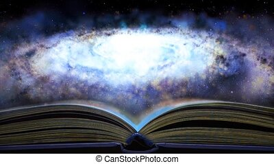 a, livro, conta, aproximadamente, a, galaxy., 26