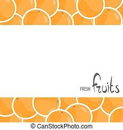 A lot of juicy oranges