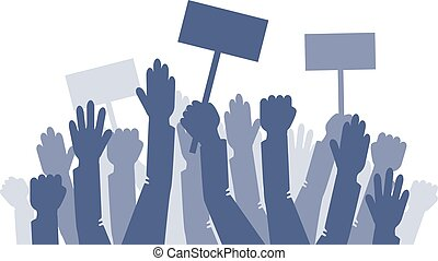 A lot of raised hands on the minig