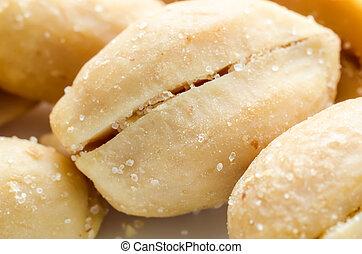 salty peanuts