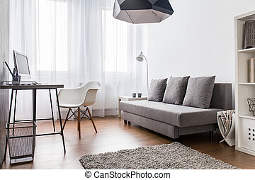 A lot of space for work and relax - Modern, light living ...