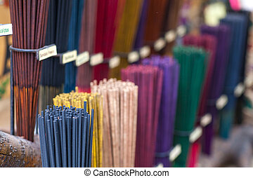 Incense - A lot of various scented Incense sticks