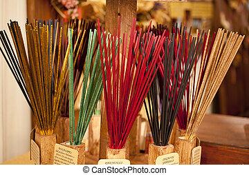 Incense sticks - A lot scented Incense sticks