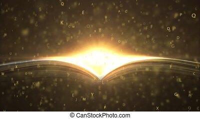 A magic book written with love. Book that teaches. 4