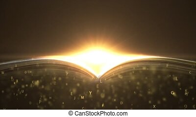 A magic book written with love. Book that teaches. 5 - A...