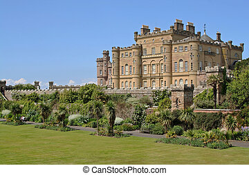 Culzean Castle - A majestic photo of Culzean Castle in...
