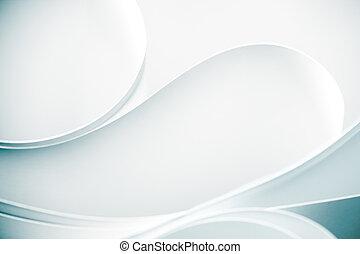 a, makro, abstrakt, hintergrund, bild, von, a, weißes,...