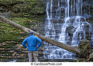 Jackson Falls at Natchez Trace Parkway